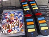 BUZZ QUIZ TV PS3 GAME